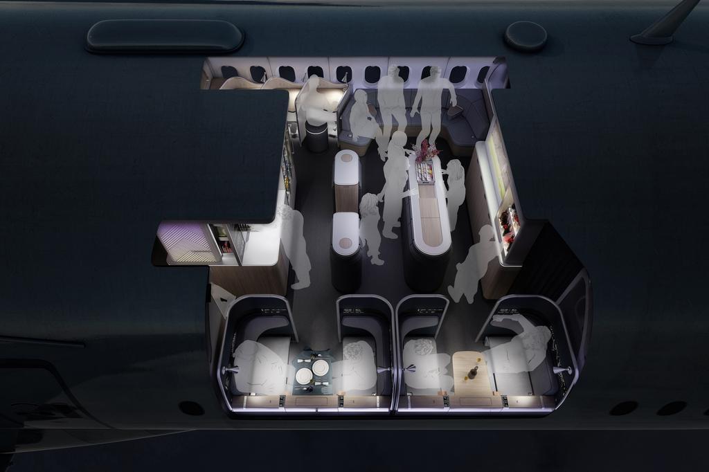 תא נוסעים עתידי אולטרהפלקס Ultraflex
