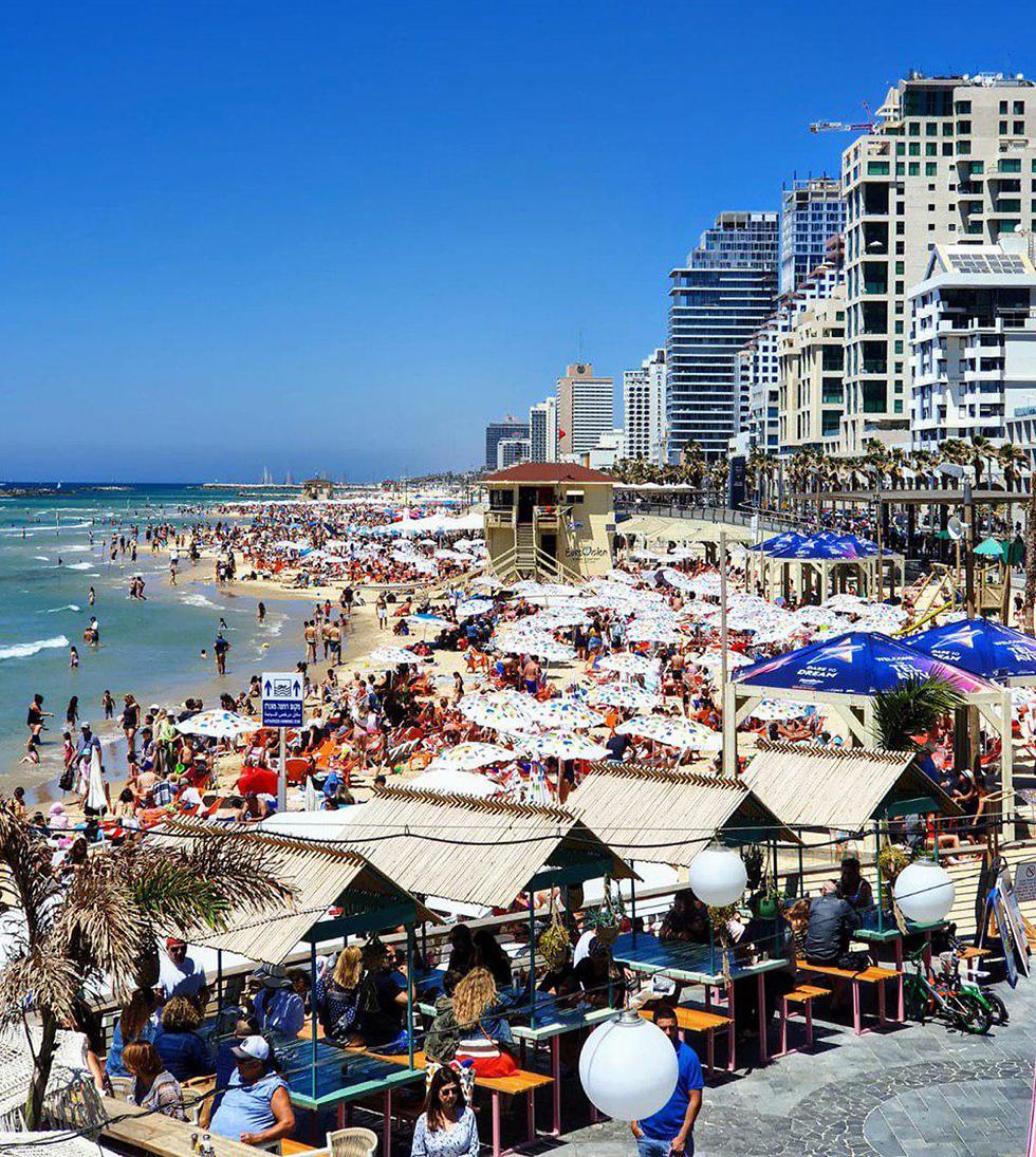 הכנה הכנות לקראת אירוויזיון 2019 גני התערוכה תל אביב ישראל