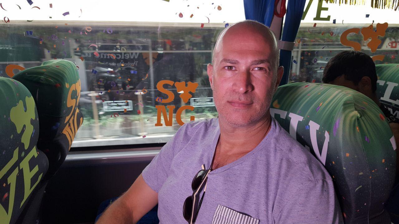 אירוויזיון 2019 אוטובוס תל אביב תיירים קרלסברג