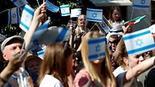 יום אל קודס יום ירושלים העולמי ברלין גרמניה הפגנה פרו ישראלית