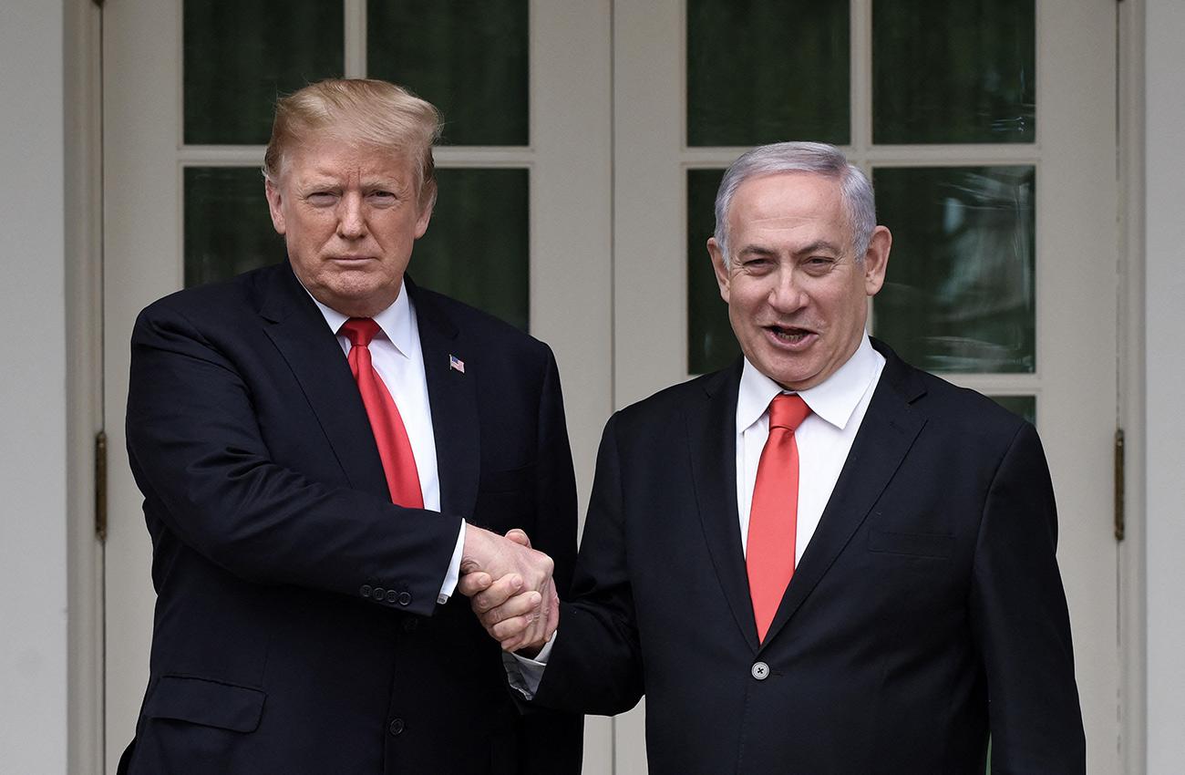 Netanyahu Trump White House March 2019