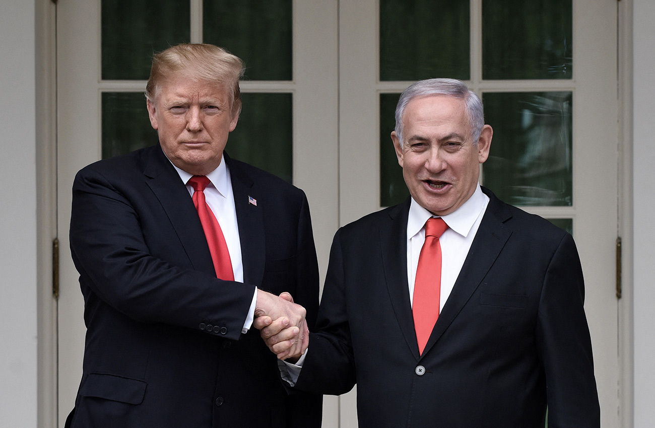 Netanyahu Trump White House March 2019