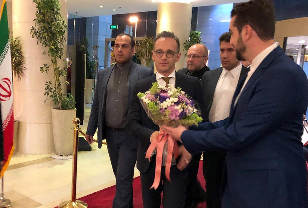 Germany FM Maas Iran Tehran