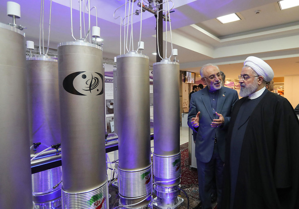 rouhani iran zarif uranium nuclear