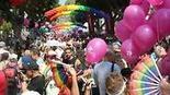 התכנסות מצעד הגאווה 2019 בתל אביב