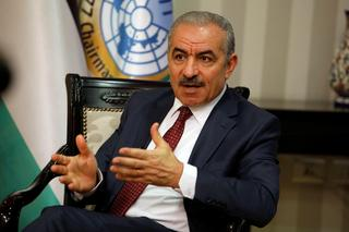 Palestinian Prime Minister Mohammed Shtayyeh in his office in Ramallah, June 27, 2019