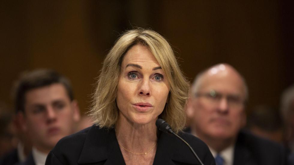 """קלי קראפט ה שגרירה החדשה של ארה""""ב ב או""""ם שימוע ב סנאט"""