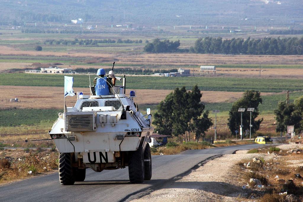 """כוחות או""""ם יוניפי""""ל ב גבול לבנון"""