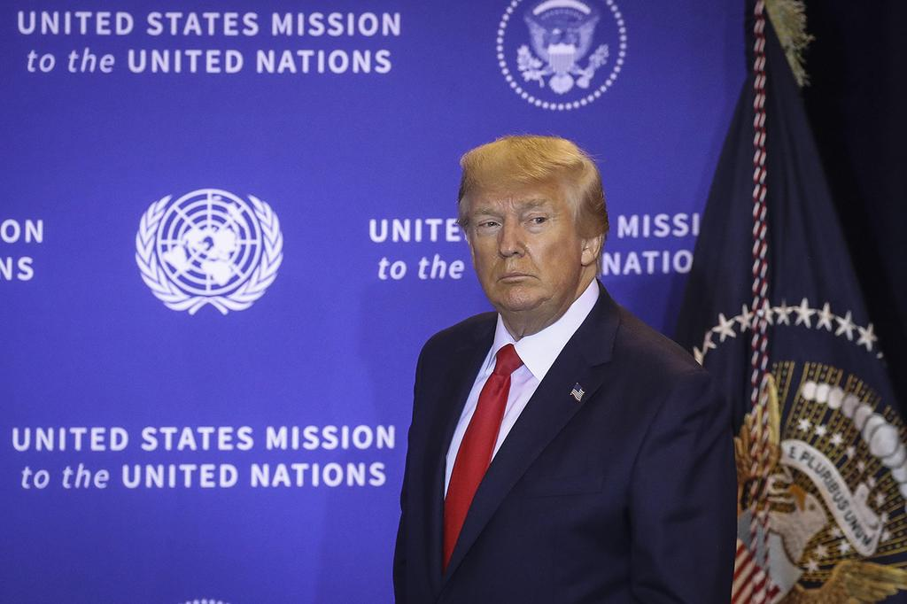 "נשיא ארה""ב דונלד טראמפ ב או""ם"