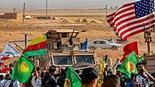 """כורדים בצפון סוריה לצד חיילים אמריקניים צבא ארה""""ב"""