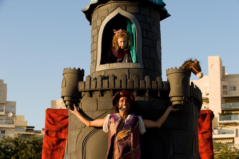 """מתחם הטירה בפסטיבל """"מוזות בשוהם"""""""