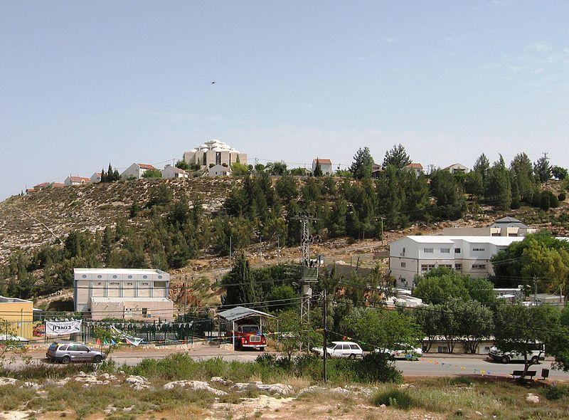 Le règlement de Shiloh en Cisjordanie