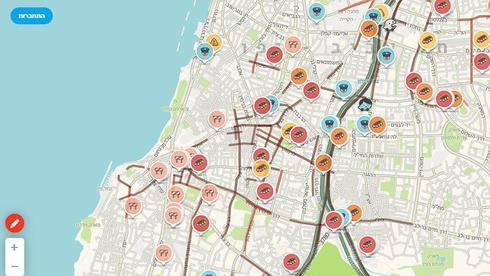 עומסים ופקקים כבדים בתל אביב בעקבות תקלת רמזורים