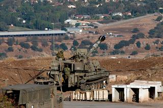 IDF troops on the Golan Heights