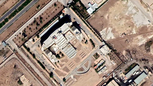 Iran's reported headquarters in Syria