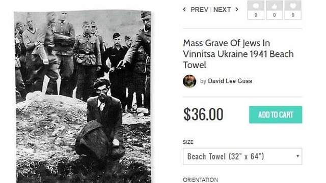 'The Last Jew in Vinnitsa' beach towel for sale