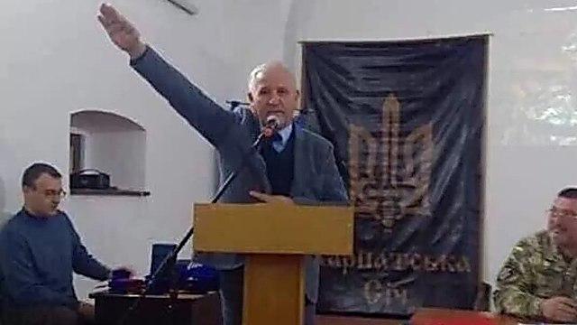 Vasily Marushchinets an anti-Semitic Ukraine diplomat