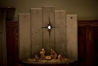 The Scar of Bethlehem by Banksy