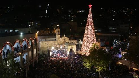 The great Christmas tree in Nazareth
