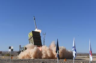 The Iron Dome missile defense system