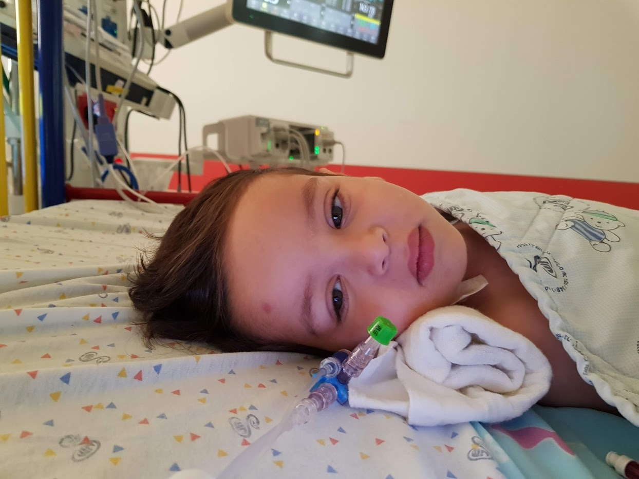Tomer Mann on his way to the USA to undergo radiotherapy