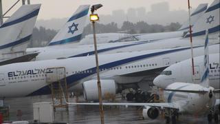El Al planes at Ben Gurion Airport