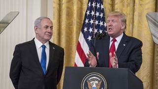 Trump reveals the deal of the century with Benjamin Netanyahu at the White House