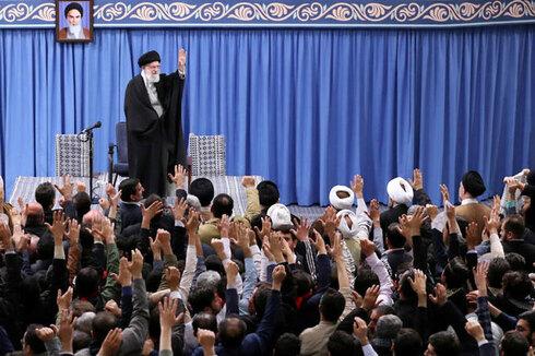 עלי חמינאי מנהיג איראן טהרן