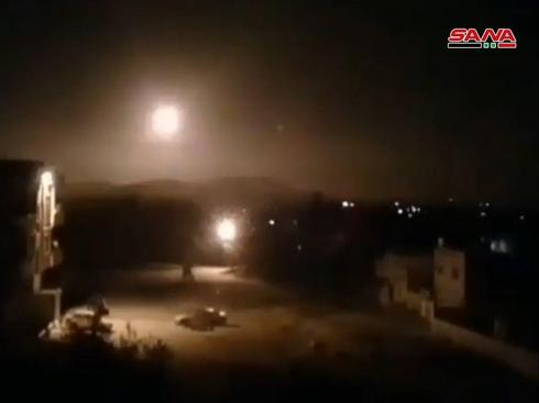 An attack attributed to Israel on Iranian targets in Syria