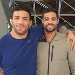 Saeid Mollaei (R) and Sagi Muki