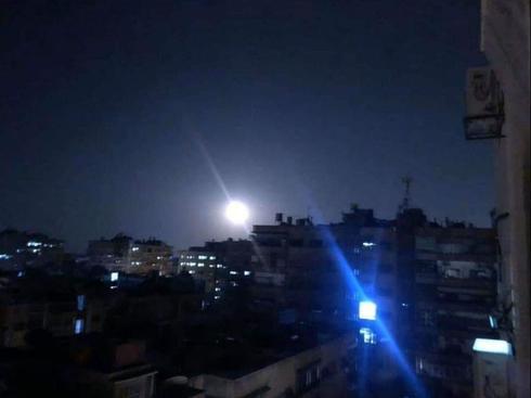תקיפה סוריה דמשק טילים