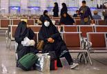 אנשים נכנסים ל עיראק חוזרים מ איראן נעם מסכות נגיף קורונה