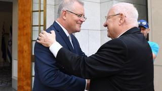 ריבלין וראש ממשלת אוסטרליה סקוט מוריסון
