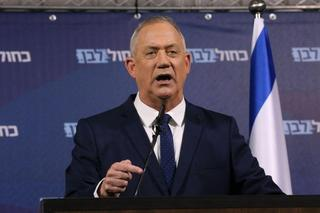 Blue & White Chairman Benny Gantz
