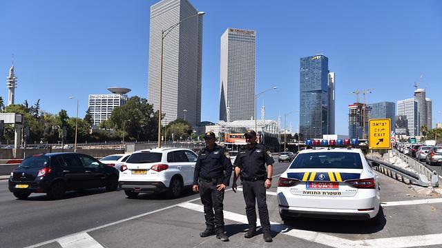 Усиленное патрулирование полиции. Фото: пресс-служба полиции