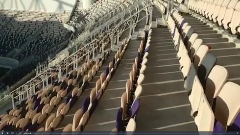 שורות הקורונה באצטדיון בלומפילד