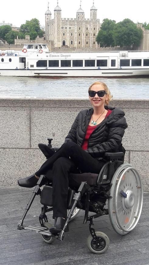 """מנדי לייטון, יו""""ר ארגון בזכות, אישה עם מוגבלות פיזית"""