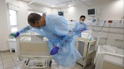 הקמה של מחלקה חדשה לטיפול בחולי קורונה בבית חולים איכילוב בתל אביב