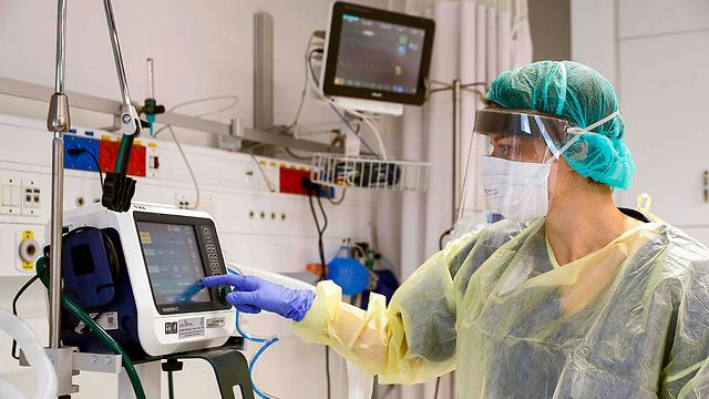 הכנת מתקן אשפוז חולי קורונה בית חולים אסותא אשדוד