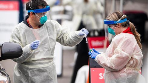 Testing for coronavirus in  Israel