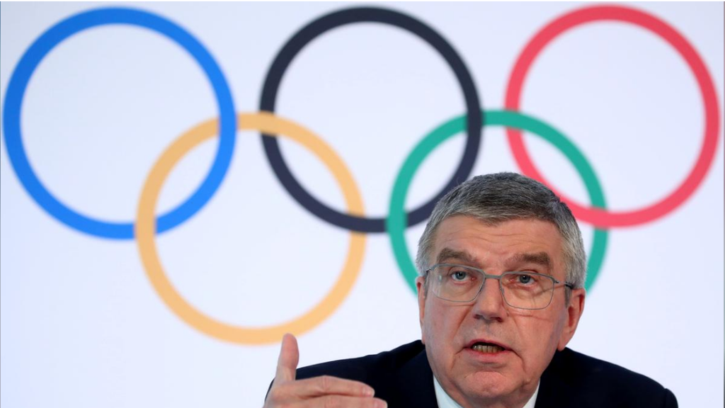 Thomas Bach, President of the International Olympic Committee (IOC)