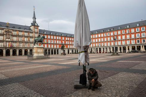 נגיף קורונה חסרי בית הומלסים ספרד מדריד