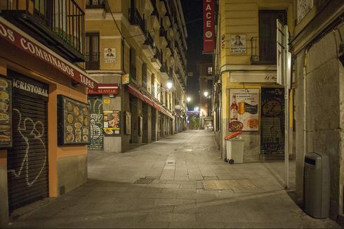 נגיף קורונה ספרד רחובות מדריד