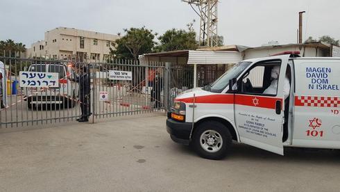 מחלקת הקורונה בבית החולים לניאדו בנתניה