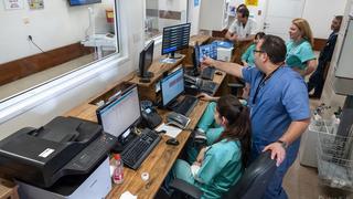 טיפול בחולי קורונה במרכז הרפואי הלל יפה בחדרה