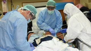 טיפול בחולי קורונה במרכז הרפואי סורוקה