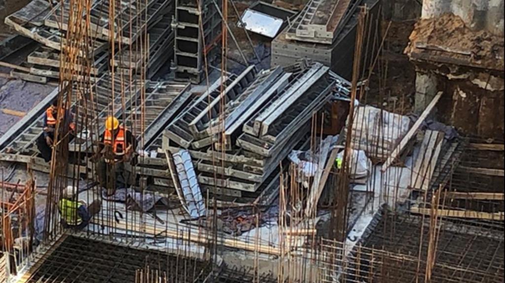 אתר בנייה. צילום: נעה קסלר