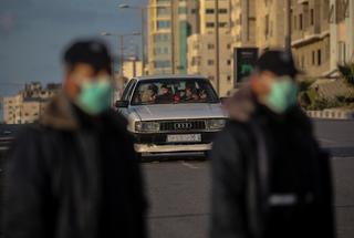 Hamas police patrol Gaza streets