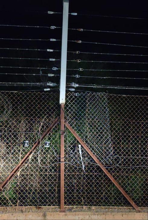 פגיעות בגדר בגבול לבנון
