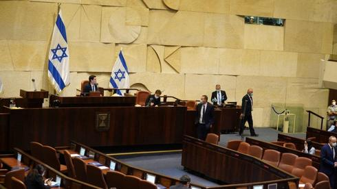 """מליאת הכנסת אישרה בקריאה ראשונה את התיקונים ל""""חוק יסוד: הממשלה"""" שיאפשרו את הקמת ממשלת נתניהו-גנץ"""